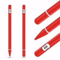 Case Silikon Apple Pencil Gen 1 plus casing charger anti hilang