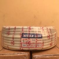 Kabel Potongan NYM Mitsuba 2x4mm 2 X 4mm METERAN
