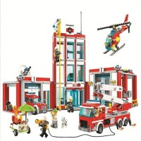 10831 Lego City Fire Station
