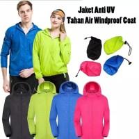Jaket Olahraga IMPORT Anti Sinar UV / Anti Air Unisex Pria dan Wanita