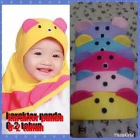 Kerudung PANDA kerudung anak/jilbab bayi/kerudung bayi/kupluk bayi