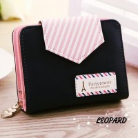 Wallet Card Paris Tower Dompet Wanita Murah Dompet Cewe Simple