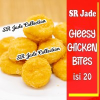 Cheesy Chicken Bites isi 20/Naget Ayam Keju/Mini Cheese Chicken Nugget