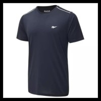 Reebok Running Tee Sport Shirt Man Baju Olahraga Pria Cowok Original -