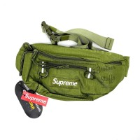 WAISTBAG SUPREME SS19 GREEN, Mirror 1:1