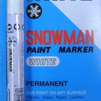 Paint Marker Snowman White Colour Per Gross 144 pcs