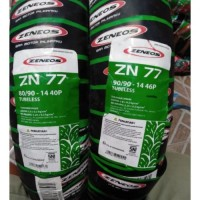 Paket ban tubles matic zeneos Zn 77 UK.80/90 + 90/90.14 free pentil