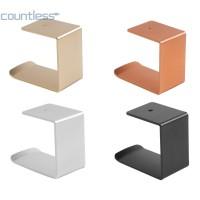 Cou ☎3M Metal Headset Hanger Wall Hook Durable Desktop Mount