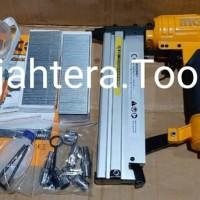 Mesin paku tembak 2in1 nailer and stapler combo ingco brad nailer air