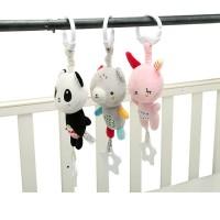 0+ month Hanging Music Baby Handbell Plush Toys Stroller Baby