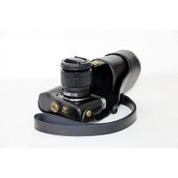Tas Case Kamera Bahan Kulit PU untuk Fujifilm XA3 X-A3