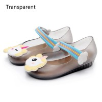 ??SF?? 15.7-18.5cm Sepatu Flat Shoes Anak Perempuan Unicorn Jelly