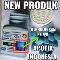 Herbal-Kuat Penambah Stamina Pria Dewasa-Pfizer-100mg-Pil--Biru-Jamu
