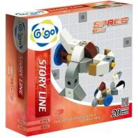 Gigo Space Mini Educational Toys 3 tahun ke atas Mainan Edukasi Laki