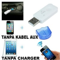 Non Aux tanpa kabel Usb Bluetooth receiver Adapter Music - Call Audi