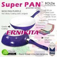 PROMO 1 BULAN SUPER PAN BOLDe Purple Set - PANCI GRANITE CERAMIC