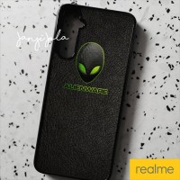 Casing hard case Realme 6 5 5i xt C3 Pro Alienware Black