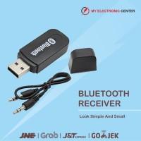 Promo USB Bluetooth Audio Music Receiver Free Cable Aux 3 5mm Berkua