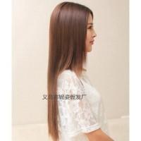 5klip Hair Extensions Lurus Bahan Sintetik Tahan Panas Kualitas Baik