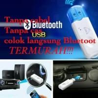 Dijual Usb Bluetooth receiver Adapter Music Call Audio Receiver Pl