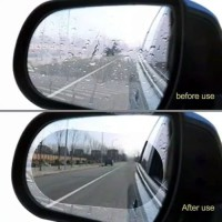 A3 Kaca Film Anti Embun Pelindung Spion Mobil oVAL