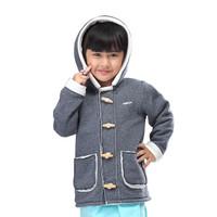 Jaket/ sweater/ Anak Perempuan / Murah dan Berkualitas / girls - Abu Fleece