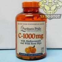 fresh new Puritans Pride Vitamin C1000 C-1000 mg 250 Caplets Caps