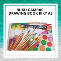 Buku Gambar Drawing Book Kiky A3 Berkualitas Tebal Tidak Mudah Sobek