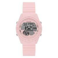 Guess Jam Tangan Wanita Analog Pink Silicone - W1281L4