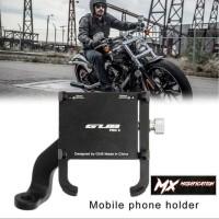 GUB Pro 2 Holder Handphone / GPS Universal Full CNC Original