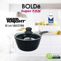BOLDe SUPER PAN SAUCE PAN - Panci Saus GRANITE COATING 18cm