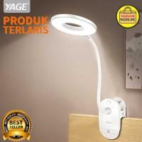 Lampu Meja Belajar LED MODEL JEPIT - lampu kerja - lampu hias