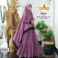 Salma Syari Baju Muslim Gamis Syari Jumbo Gamis Terbaru