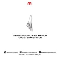 Meinl TRIPLE A-GO-GO BELL MEDIUM - STBAGTRI-CH