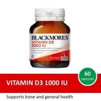 BLACKMORES Vitamin D3 1000 iu 60 caps 60 kapsul