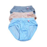 Pakaian Dalam CD / Celana Dalam Cowok Pria Karet Kerut Big Size ZB Man
