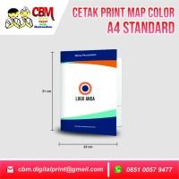 Cetak Print Map Stopmap Color A4 Standar