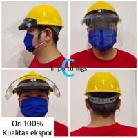 Helm APD medis face shield visor safety mencegah masuknya virus corona