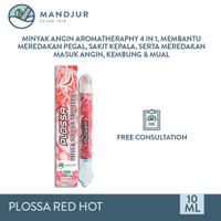 Plossa Minyak Angin Aromatherapy Red Hot