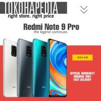 XIAOMI REDMI NOTE 9 PRO RAM 8/128 GB GARANSI RESMI XIAOMI INDONESIA