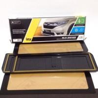 Cover Plat Nomor Mobil Izy - Acrylic Depan Belakang