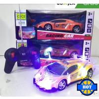 Mainan Mobil Remote Control / Ada Lampu LED di Body Mobil
