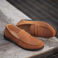 REYL MELISMATIC CH | Sepatu Pantofel Pria Sepatu Kulit Asli Formal Ori