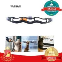 Mainan Interaktif Kucing Track Roll Wall Ball Cat Interactive Toy
