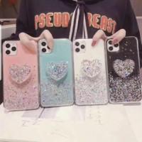 softcase casing case motif glitter free pop love samsung a71
