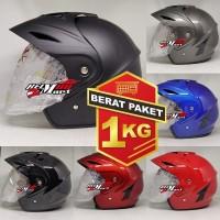 Helm SNI Murah TGP Jp5 Solid Five helm half face