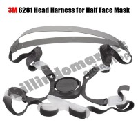 3M 6281 Head Harness for Half Face Mask Tali Masker 6100 6200 6300