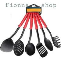 BC (Colour)Kitchen tools set 6 pcs atau alat masak spatula set