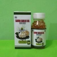 Sauda Garlic Oil Habba Garlic isi 100|Habba Garlic Oil Gold