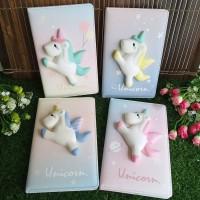 Buku Diary Squishy Colorful Wangi Tebal Lembut - Cute Animal SF19